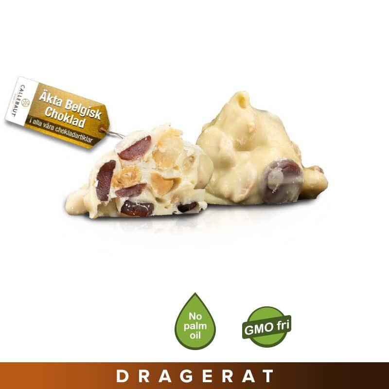 Jordnötstoppar Yoghurt/Jordgubb