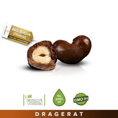 Cashewnötter mörkchoklad vegan
